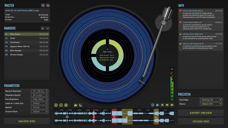 Perfect Groove Software Screenshot
